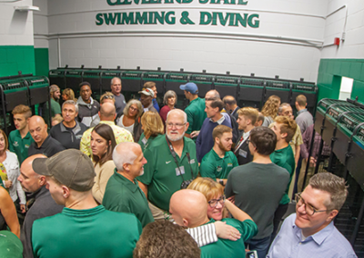 New Swimming and Diving Locker Rooms